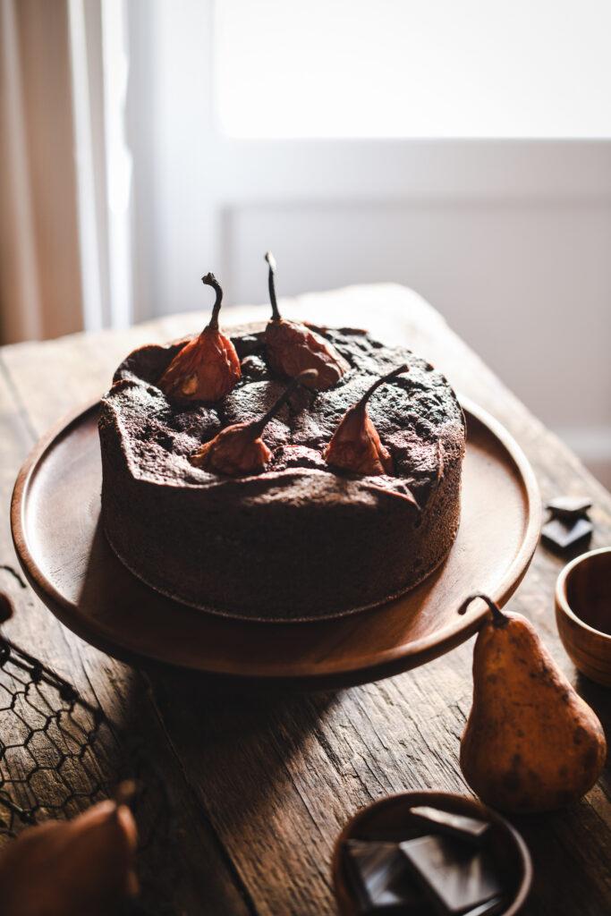 Torta di Pere e Cioccolato 2