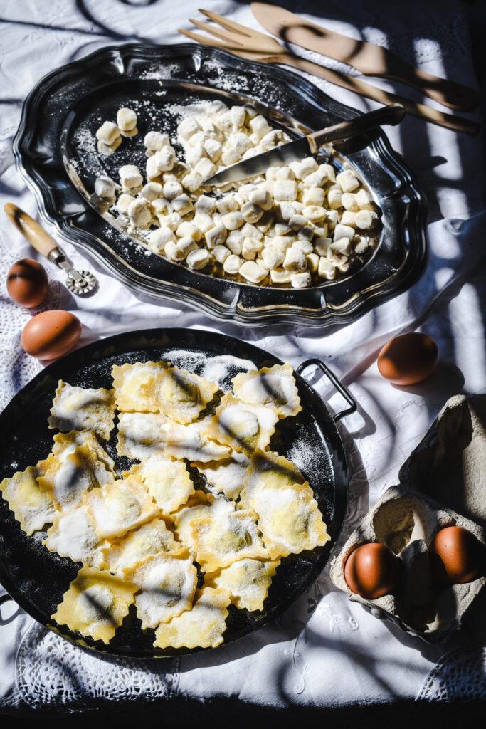 Pasta fresca - ravioli e gnocchi