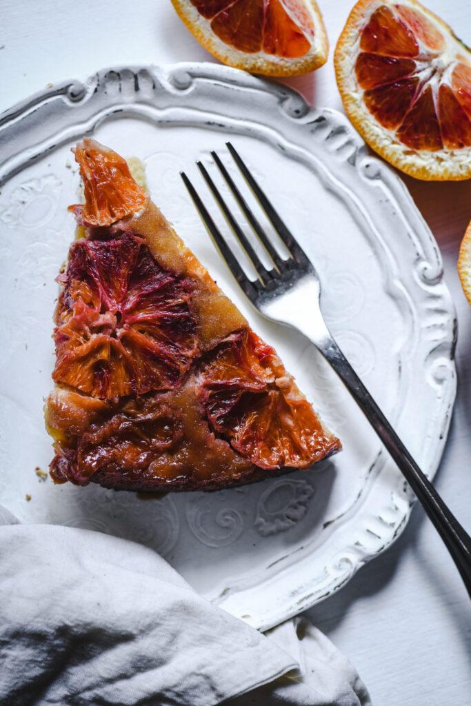 Fetta di Blood Orange Upside Down cake